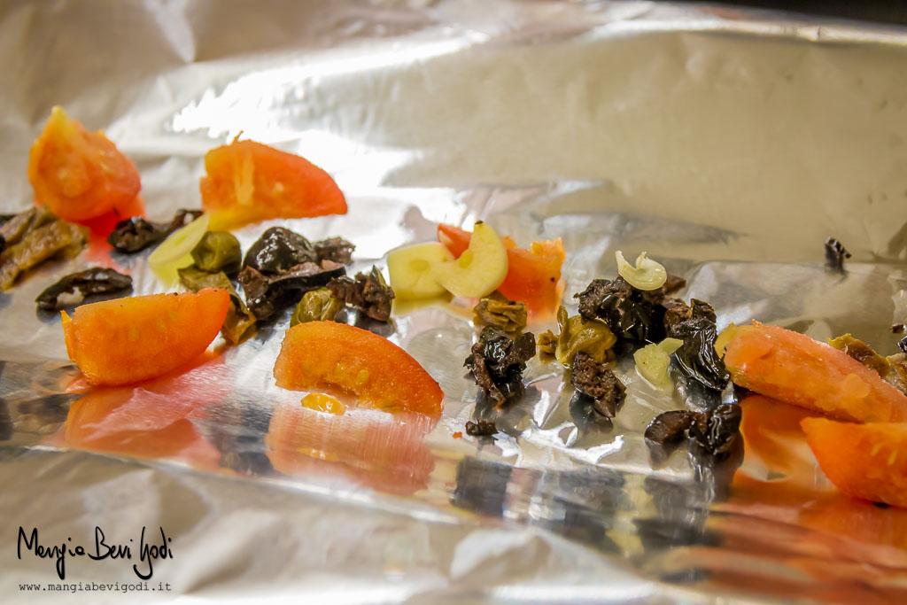 Aromi mediterranei in cartoccio