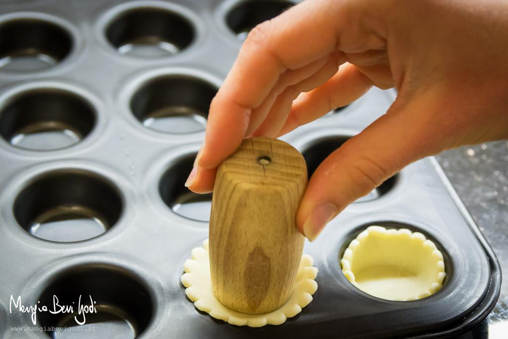 Come fare le tartellette di pasta brisée