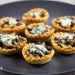 Tartellette radicchio e gorgonzola