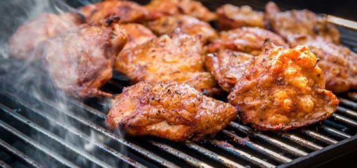 Sovracosce di pollo alla griglia con pelle croccante