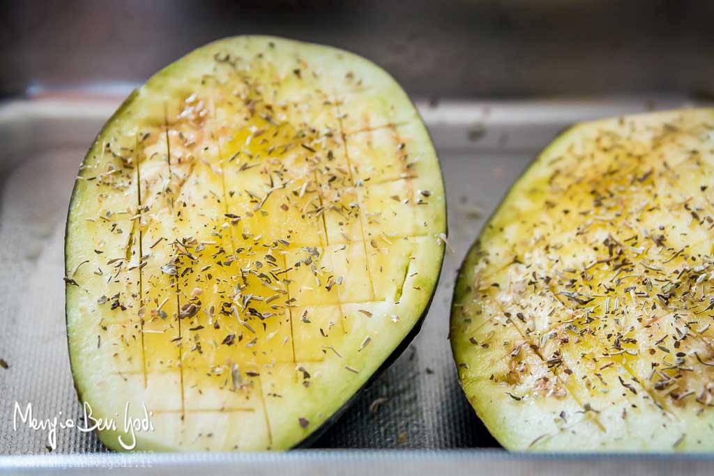 Arrostire le melanzane in forno