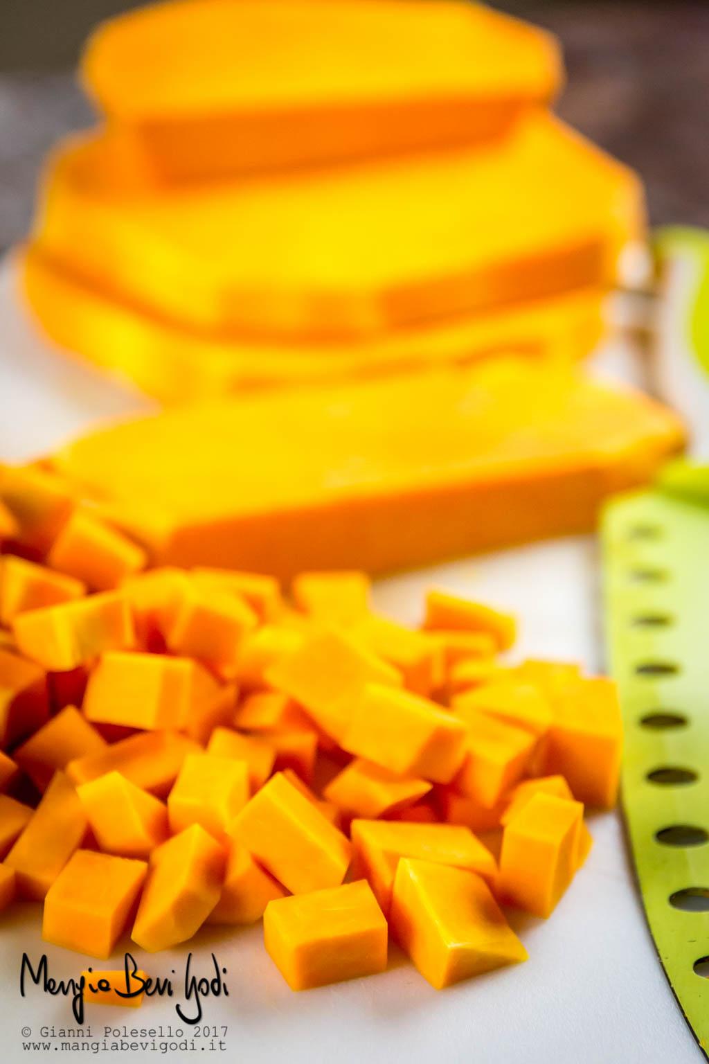 Come tagliare, conservare e congelare la zucca