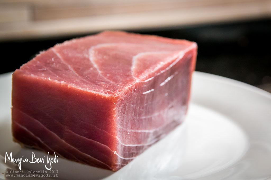 Trancio di tonno surgelato
