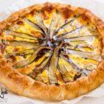 Torta salata con radicchio di Treviso e Taleggio