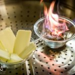 Preparazione del burro affumicato