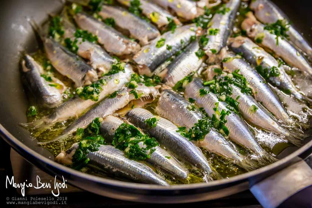 Sardine in padella