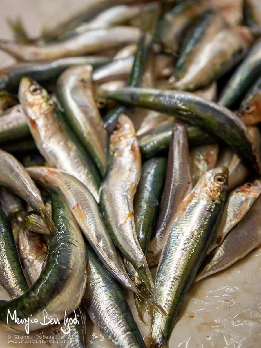 Come pulire le sardine e togliere la lisca