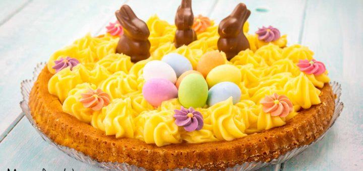 Crostata morbida alla crema pasticcera - Dolce di Pasqua
