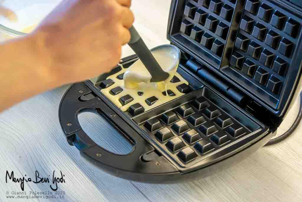 Cottura waffle