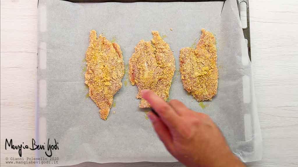 Cottura fesa di tacchino al forno