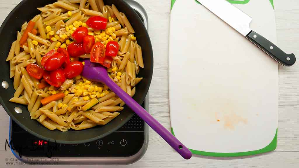Cottura insalata di pasta fredda sfiziosa