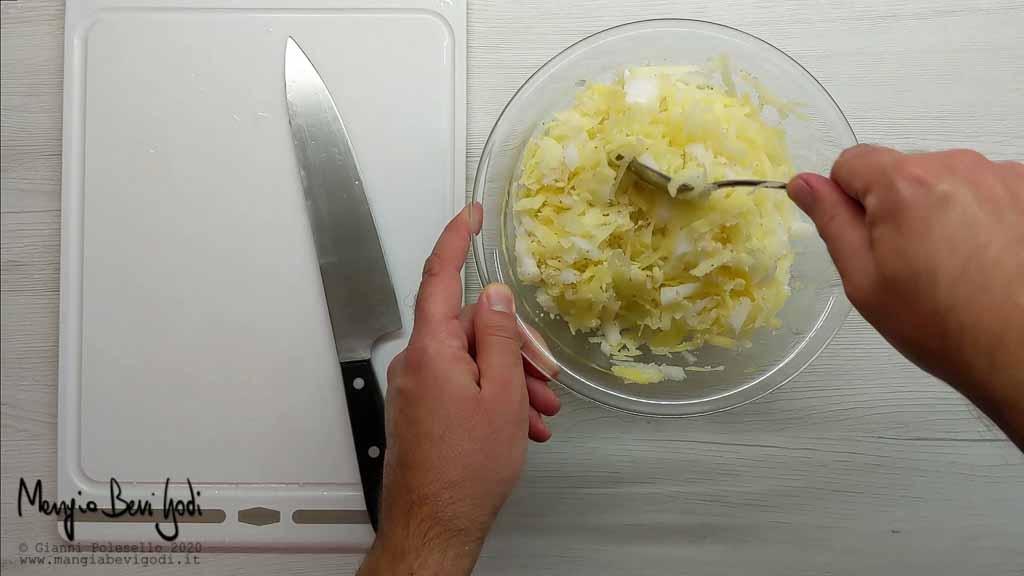 Impasto per crosta di patate