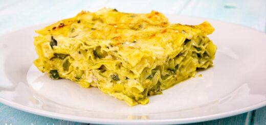 Lasagne al pesto e zucchine