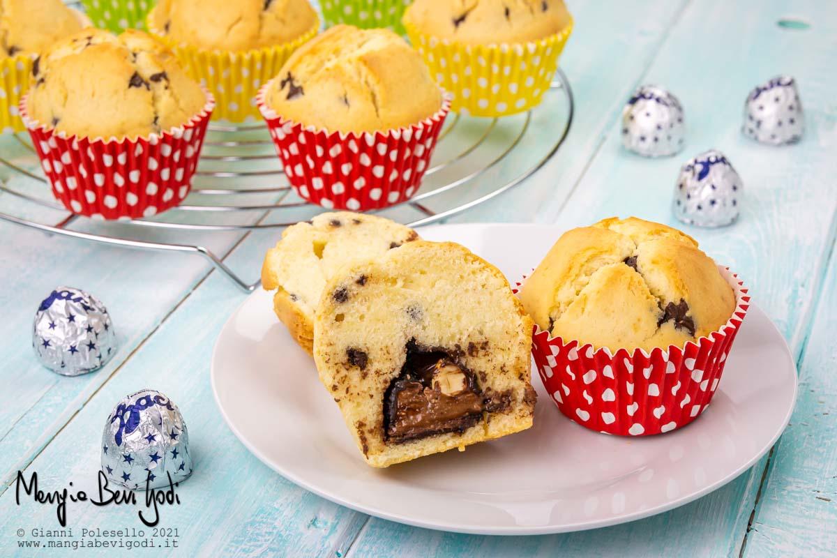 Muffin con Baci Perugina
