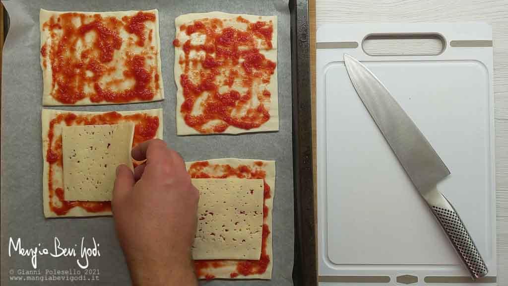 farcire le pizzette