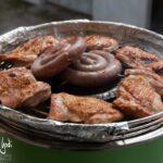 Grigliata di carne con grill ventilato Florabest