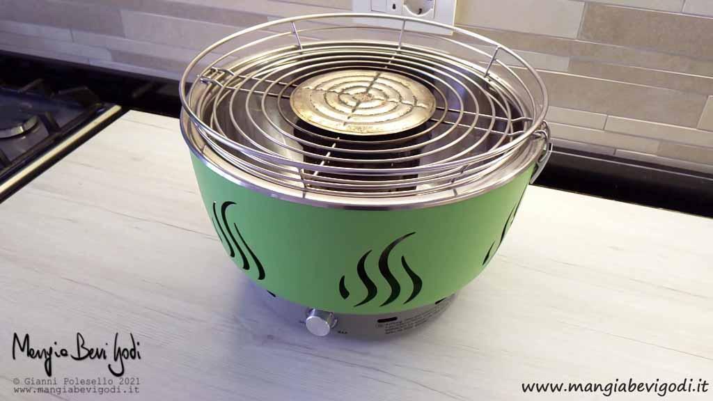 Grill ventilato Florabest
