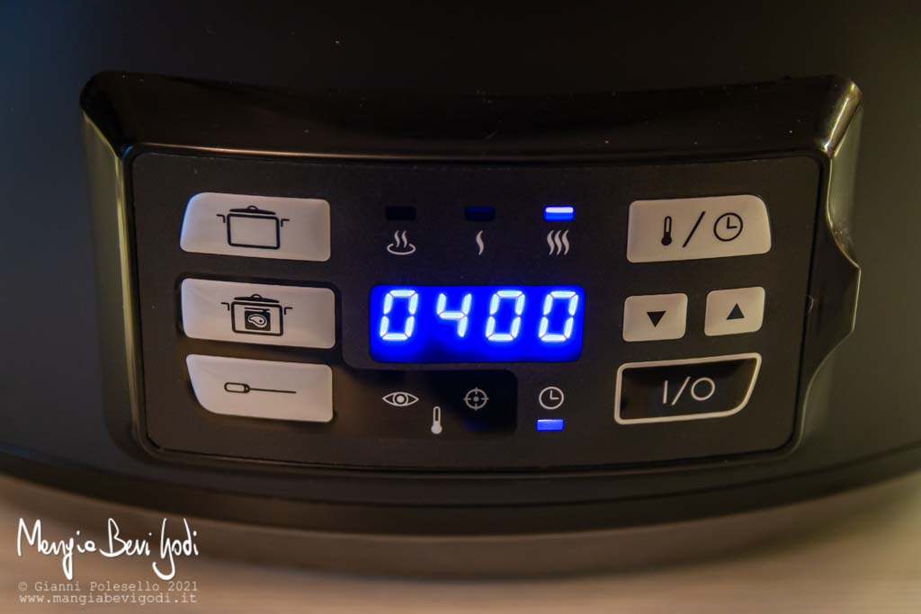 slow cooker con timer