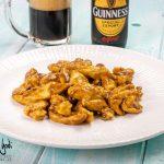 Straccetti di pollo alla Guinness